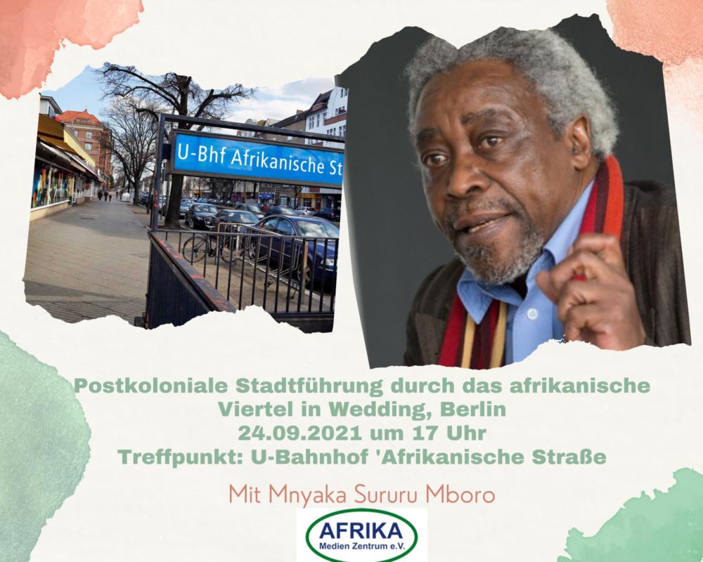 Postkoloniale Stadtführung durch das afrikanische Viertel in Wedding, Berlin
